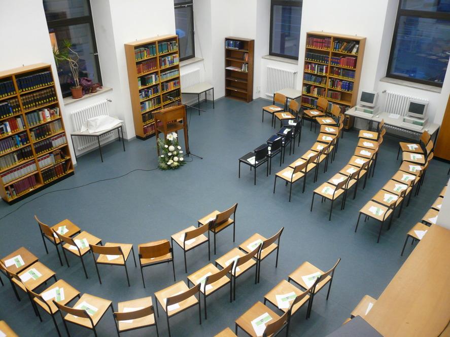 Bibliothekssaal Institut für Bayerische Geschichte